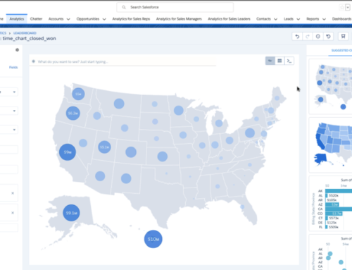 Salesforce launches conversational queries with Einstein Analytics